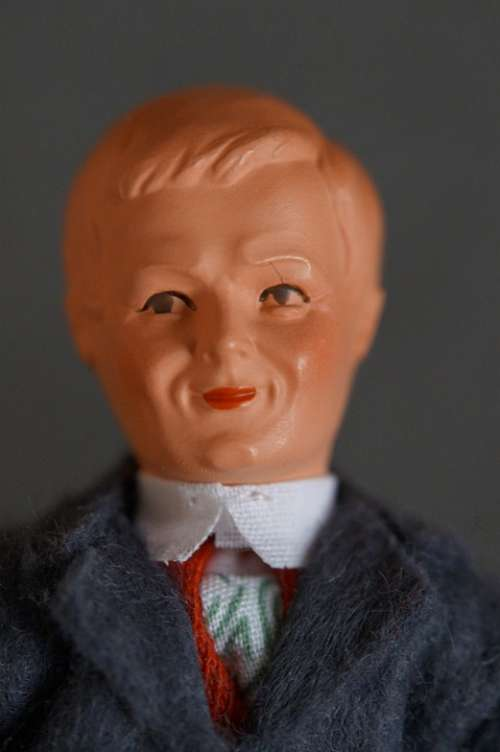 Man Father Portrait Doll Doll Face Figure Old