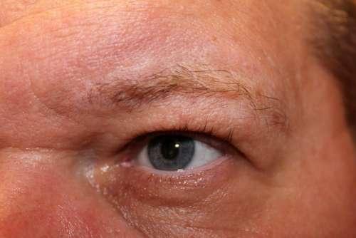 Man Eye Face Human