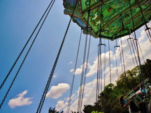 Manege Swing Park Game Perspective
