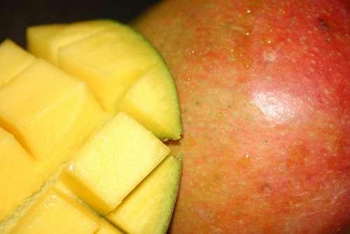 Mango Fruit Eat Food Nutrition Feed Fresh