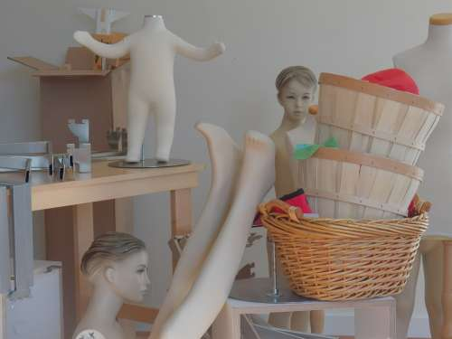 Manikins Mannequins Dummies Body Parts Head Body