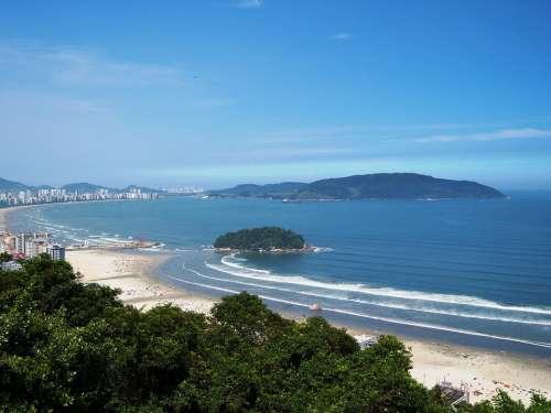 Mar Blue Sky São Vicente Litoral