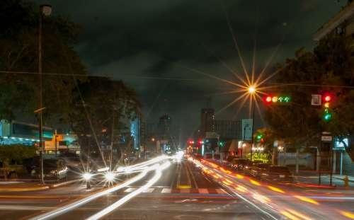 Maracaibo Venezuela City Cities Urban Night