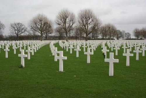 Margraten Cemetery Commemorate Second World War