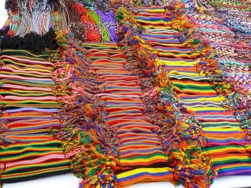 Market Colors Ribbon Belt Craft Woven Handmade
