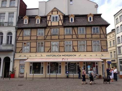 Marketplace Schwerin Mecklenburg Western Pomerania