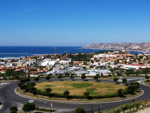 Marseille City Sea