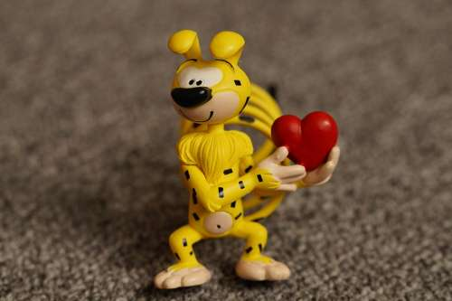 Marsupilami Comic Cartoon Cartoon Character Figure