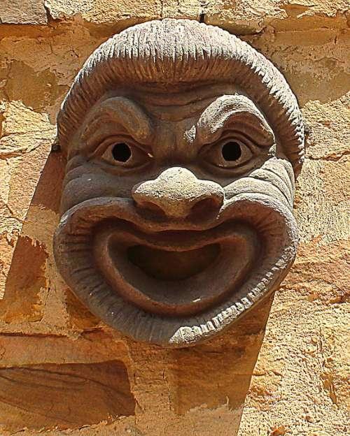 Mask Maszkaron Tunisia Architecture Ornaments