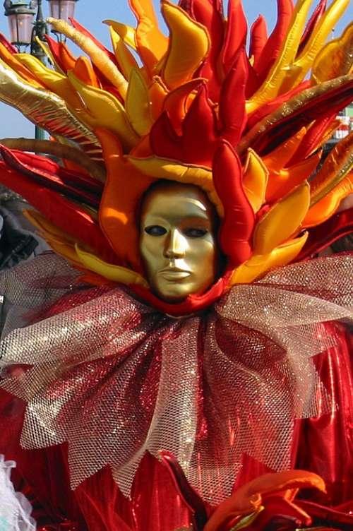 Mask Carnival Venice Carnival Of Venice Italy