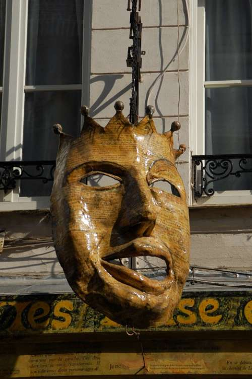 Mask Theatre Face