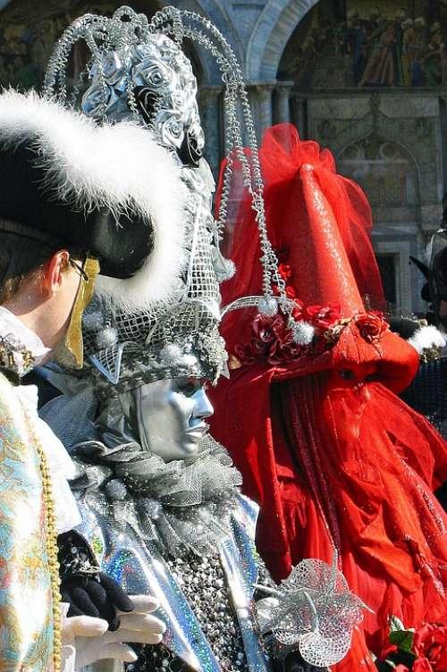 Masks Carnival Venice Carnival Of Venice Italy