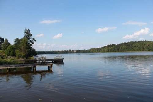 Masuria Lake Poland