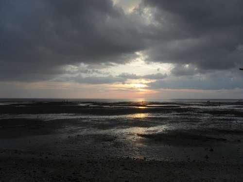 Matalom Beach Philippines Sunset