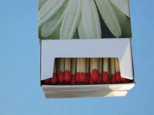 Matchbox Matches Box Close Decoration Burn Fire