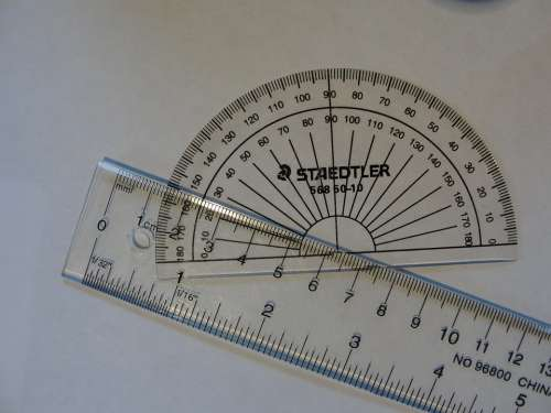 Mathematics Measurement Rule