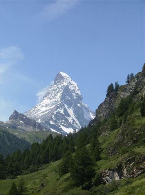 Matterhorn Alpine Mountain