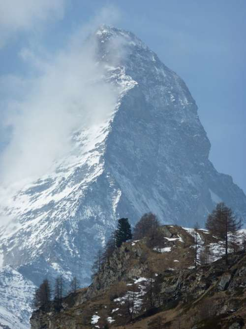 Matterhorn Zermatt Massif Switzerland