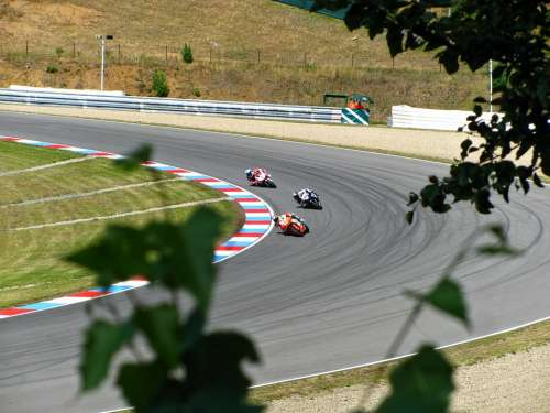 Max Biaggi Marco Melandri Carlos Checa Racing Race