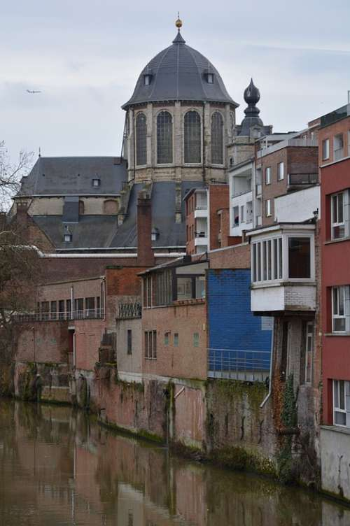 Mechelen Dome Buildings Building Church