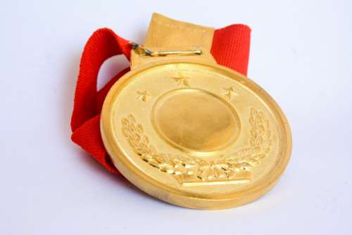 Medal Award Gold Success Achievement Winner