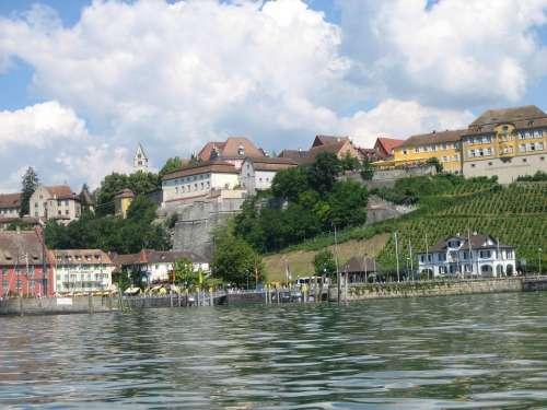 Meersburg Lake Constance Castle Water Lake