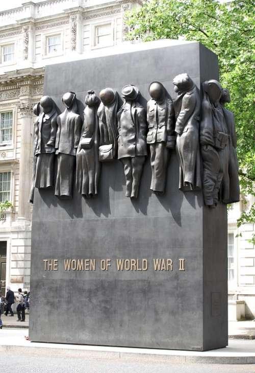 Memorial Women Whitehall London Ww2 Wwii