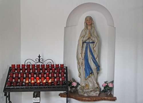 Memorial Maria Mother Mary Pray Believe Faith