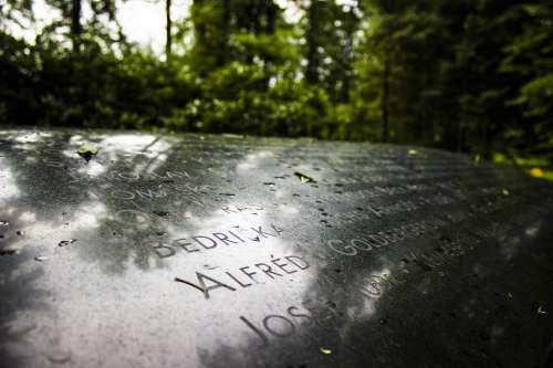 Memorial Stone Roinov Victims World War I Stones