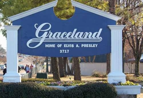 Memphis Tennessee Graceland Elvis Presley Landmark