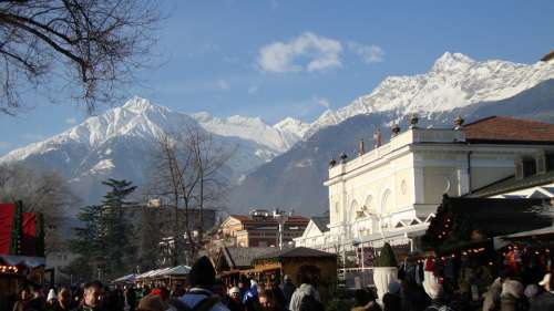 Meran Mountain Views Alpine