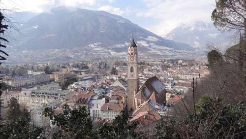 Meran South Tyrol Italy City