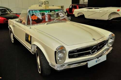 Mercedes Benz Oldtimer Car Expo Speed Vehicle