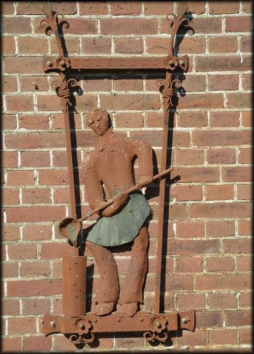 Metal Art Crafts Man Person Worker