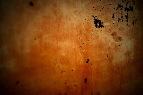 Metal Grunge Red Orange Steel Plate Rusty Old