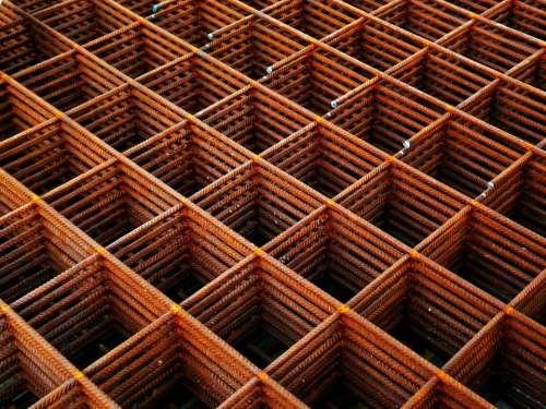 Metal Rust Rhombus Diamond Lozenge Abstract