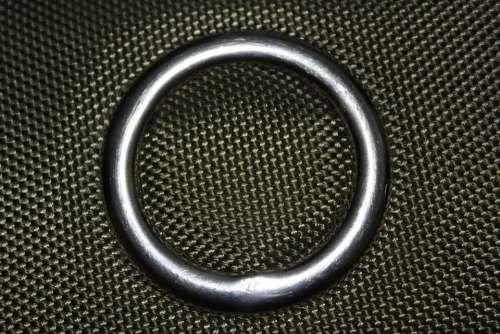 Metal Ring Grey Circle Round Texture