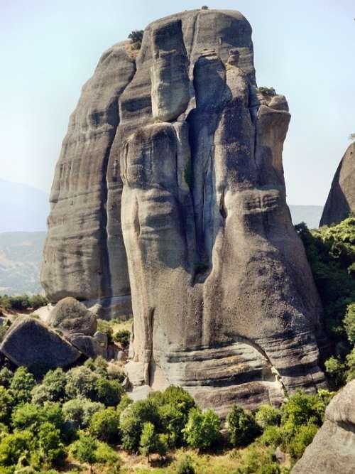 Meteora Rock Greece