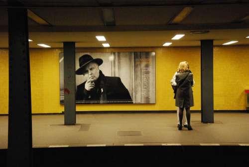 Metro Berlin S Bahn Underground Germany Big City
