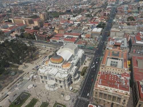 Mexico City Palace Of Fine Arts