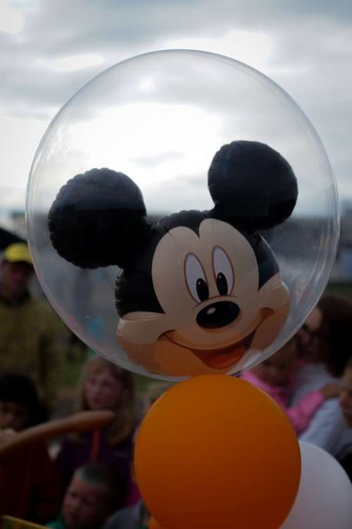 Mickey Mouse Balloon Helium Childhood Disney