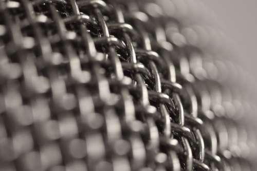 Microphone Metal Recording Macro Grid Grate