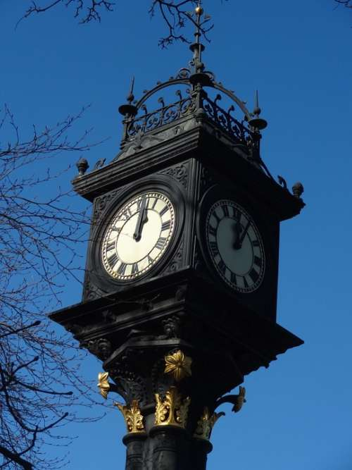 Middlesbrough Park Clock Victorian Time