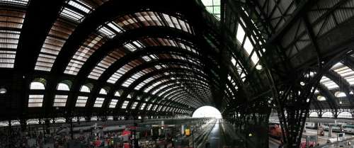 Milan Central Railway Station Milano Centrale Terms
