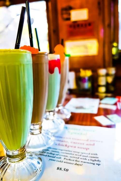 Milkshake Café Smoothie Drink Food Takeaway
