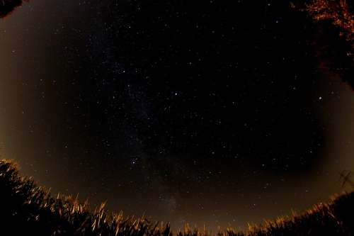 Milky Way Star Night Night Sky Starry Sky Universe
