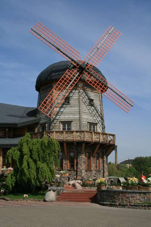 Mill Building Attraction