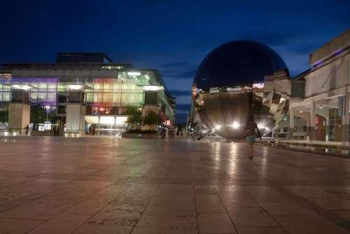 Millenium Space Bristol England Planetarium Glass