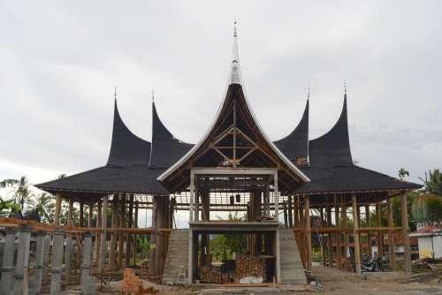 Minangkabau Indonesia Architecture Culture Asian