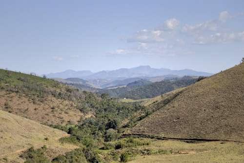 Minas Valley Mountains Nature